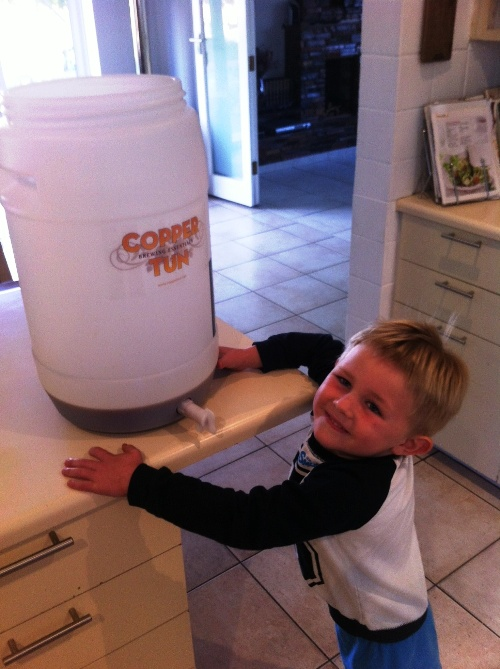 Every brewer needs a good assistant