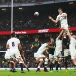 England lineout